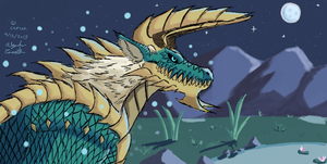 MH: Pchat Zinogre by Daowg