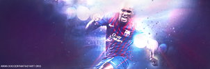 Eric Abidal - Fc Barcelona by DaVGraphic