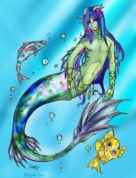 Swimming with the fishes by CrimsonInHumanBlood
