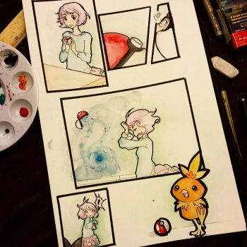Lil pokemon Comic 1# by PookieM0N
