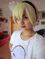 Rose Lalonde (cosplay instant photo) by sillyVantas