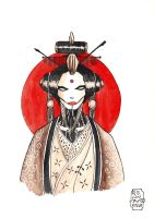 geisha-bot warm-up by Solanum80