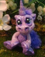 polymer clay unicorn snurple by crazylittlecritters