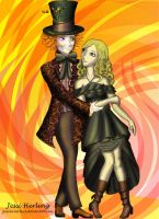 Alice and Tarrand by Jessica-Herling