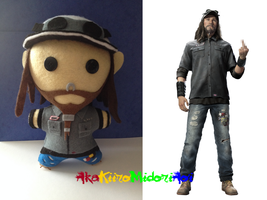 Watch Dogs Plushes: T-Bone Grady by AkaKiiroMidoriAoi
