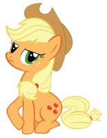 Applejack - Bridlemaid by SirLeandrea
