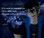 Fireflies  -^~..:Contest Entry:..~^- by blackandredwolf96