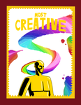 Most Creative Award by MegaArtist923
