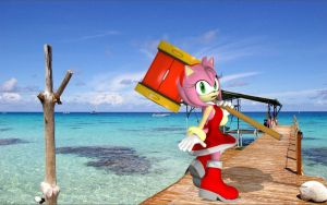 Amy Rose Upgrade V3 Sweeter than Candy by Rachidna