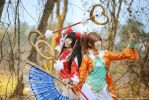 Dynasty Warriors 8 - Daqiao n Xiaoqiao by vaxzone