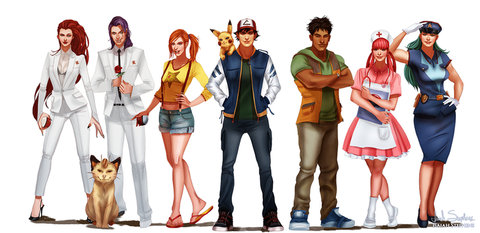 All Grown Up: Pokemon by IsaiahStephens