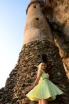 Elf and Tower by BertLePhoto
