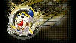 Persona 4 DAN - Teddie HD Wallpaper by seraharcana