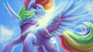 rainbow dosh by BabaKinkin