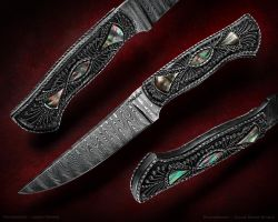Filigree Knife by Logan-Pearce