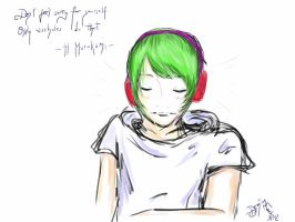 Music and Murakami by infidel-absence