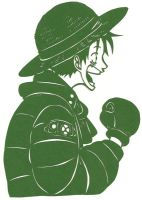 One Piece Papercut by usagisailormoon20