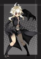 :PCommission: - Lunatic-Zombie by NaMy-BoT