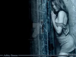 Wallpaper ashley greene by Tiamat-Creations