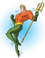 How to Draw DC Heroes - Aquaman by TimLevins