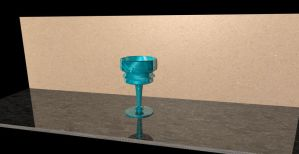 3D Cup thingy by kurisutin