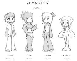 Characters...? 2 by Mikeinel
