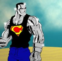 Man of Steel by agent-waway