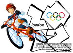Troy at the 2012 London Olympics by Galistar07water