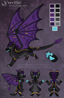 Xervillei Reference Sheet by Xeshaire