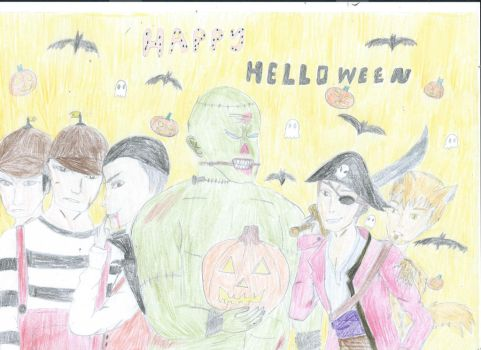 Happy Outlast Hellowen by velvetblaid
