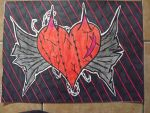 heart drawing by melissal