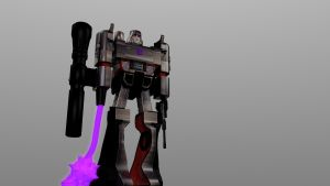 Megatron - test render by 100SeedlessPenguins