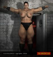 Olga Bulgakov - Cage Fighter - 8ft 6in by theamazonclub