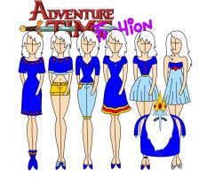 Adventure time fashion: Ice king by Willemijn1991