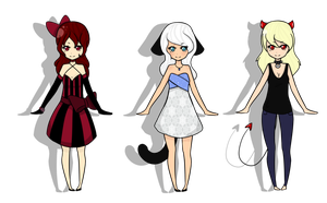Female Adopts -Closed- by Miss-Adoptables