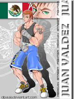 Mexican Street Fighter by Dipaula