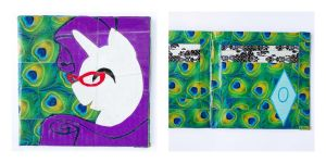 Minimalist Rarity Duct Tape Wallet - Mane Six by QuietMischief