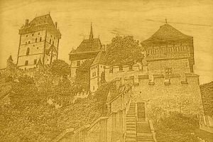The Karlstejn castle in Czech Republic by hadic-401