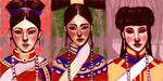 The Three Wives of Wu Ren WIP 2 by Xadrea