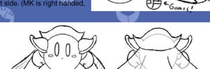 How to draw MetaKnight part 3 by metaknightclub
