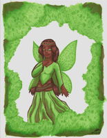 3 Marker Challenge - Forest Fairy by RynnLight