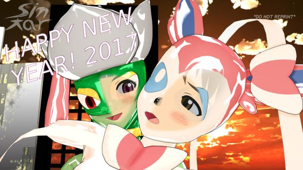 HAPPY NEW YEAR 2017!(2/3) by sintarMMD