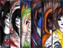 creepypasta by NENEBUBBLEELOVER