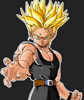 Mirai Trunks SSJ - Revised by H1d4n