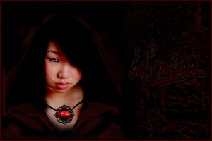 Vampire LaSombra- with brooch by Alexia88