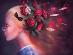 Alice in Wonderland by Sandramalie