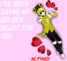 FNAF G. FREDDY Valentine's Day Card! || FNAF MMD by MLPVM101