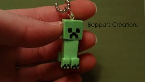 Creeper Necklace by BeppasCreations