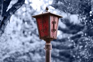 Old lamp by valiunic