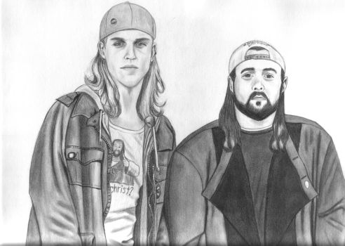 Jay and Silent Bob by bam19916